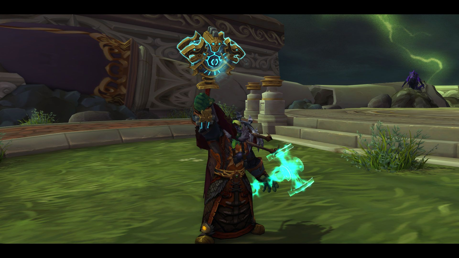 yesterday i got this sweet looking hidden artifact appearance for