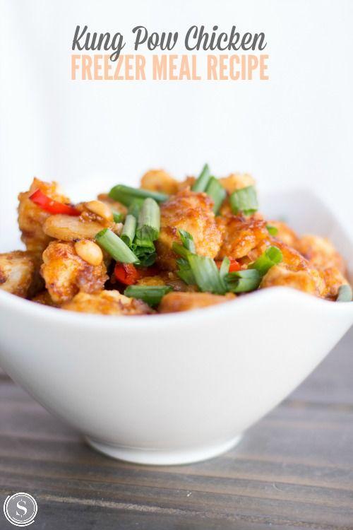 kung pow chicken easy dinner recipe for family dinner night