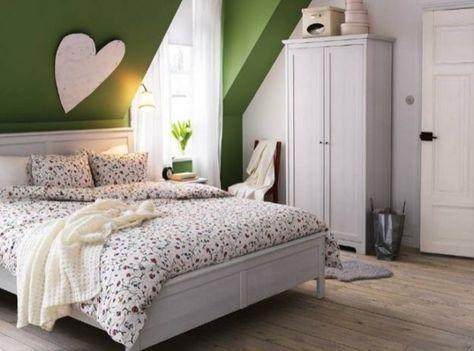 Dachschräge - ganze Wand streichen Wenn Sie mit einer markanten - schlafzimmer farben dachschrge