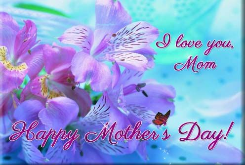 I Love You Mom Send This Beautiful Ecard Filled With Butterflies