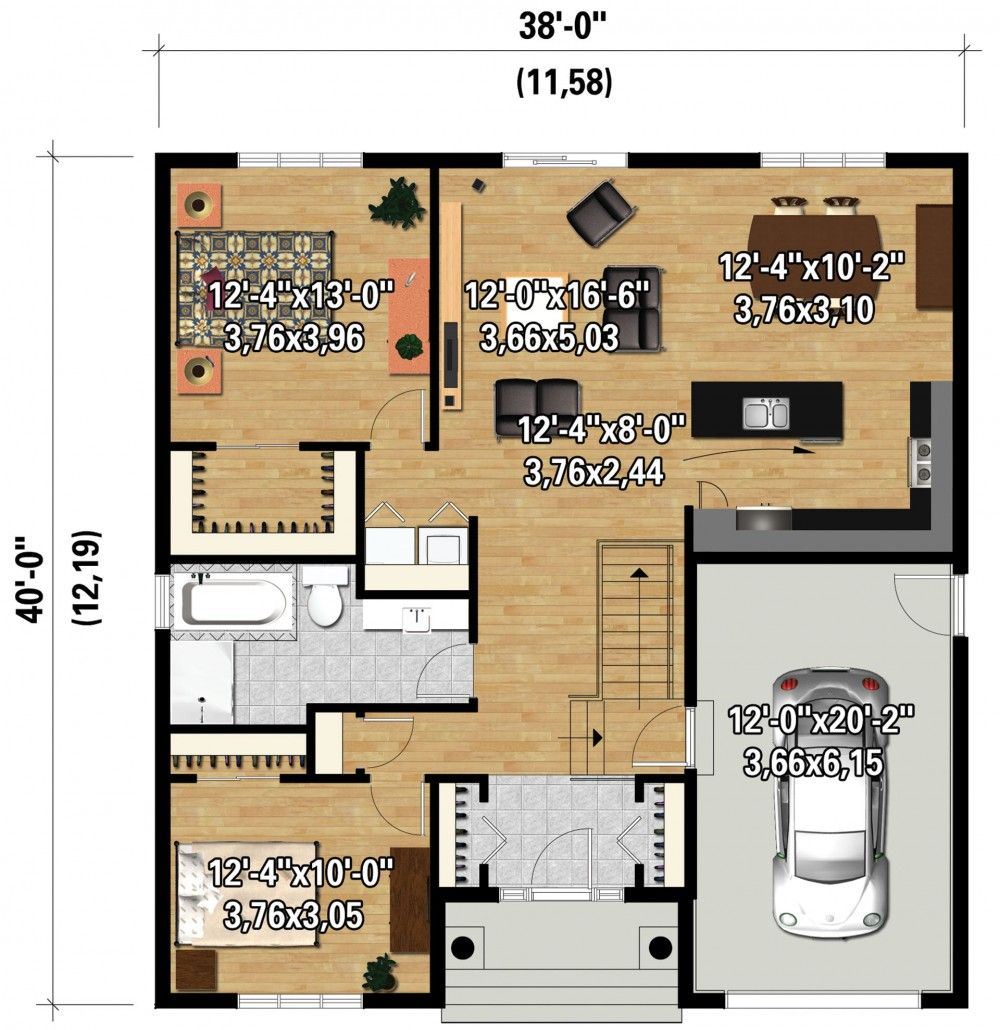Plan Image Used When Printing Maisons De Campagne Pinterest House