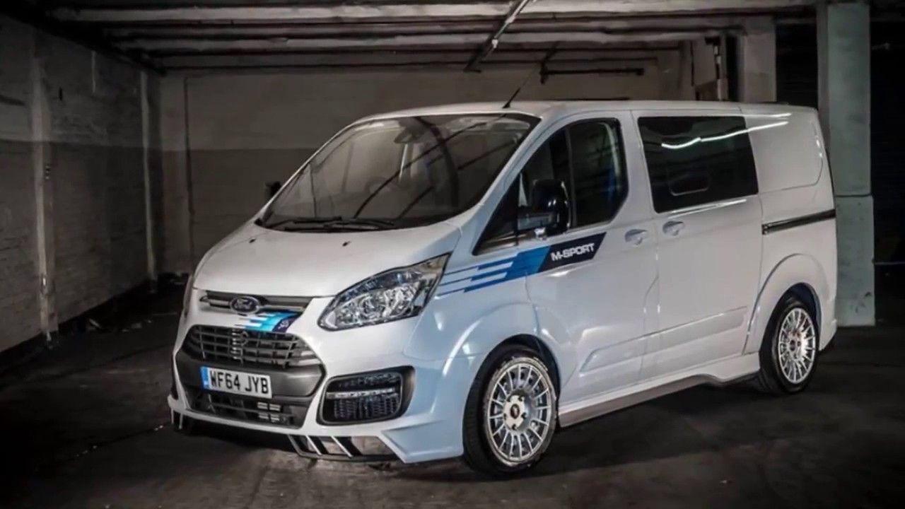 Limited Edition Wrc Ford Transit M Sport Ford Transit Ford Van