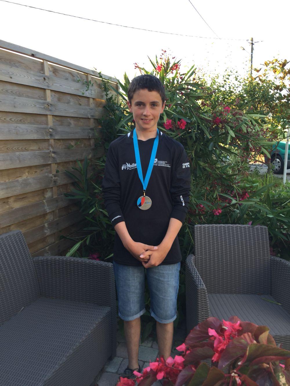 Lohann vice champion de France 2015