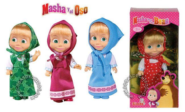 Muñeca Masha Y El Oso 15 Cm Masha Y El Oso Masha Cosas De Chicas