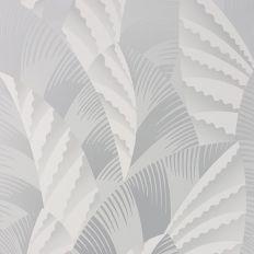 Papier peint - Osborne & Little - Chrysler - Pale silver/Ivory ...