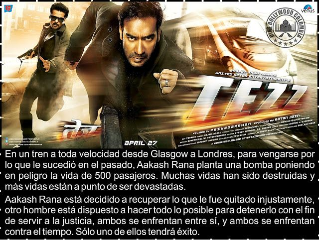 Cine Bollywood Colombia: TEZZ