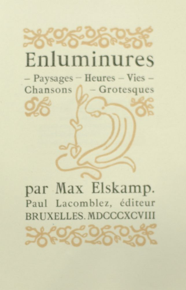 Max Elskamp | Gallery art & antiques gallery St-John
