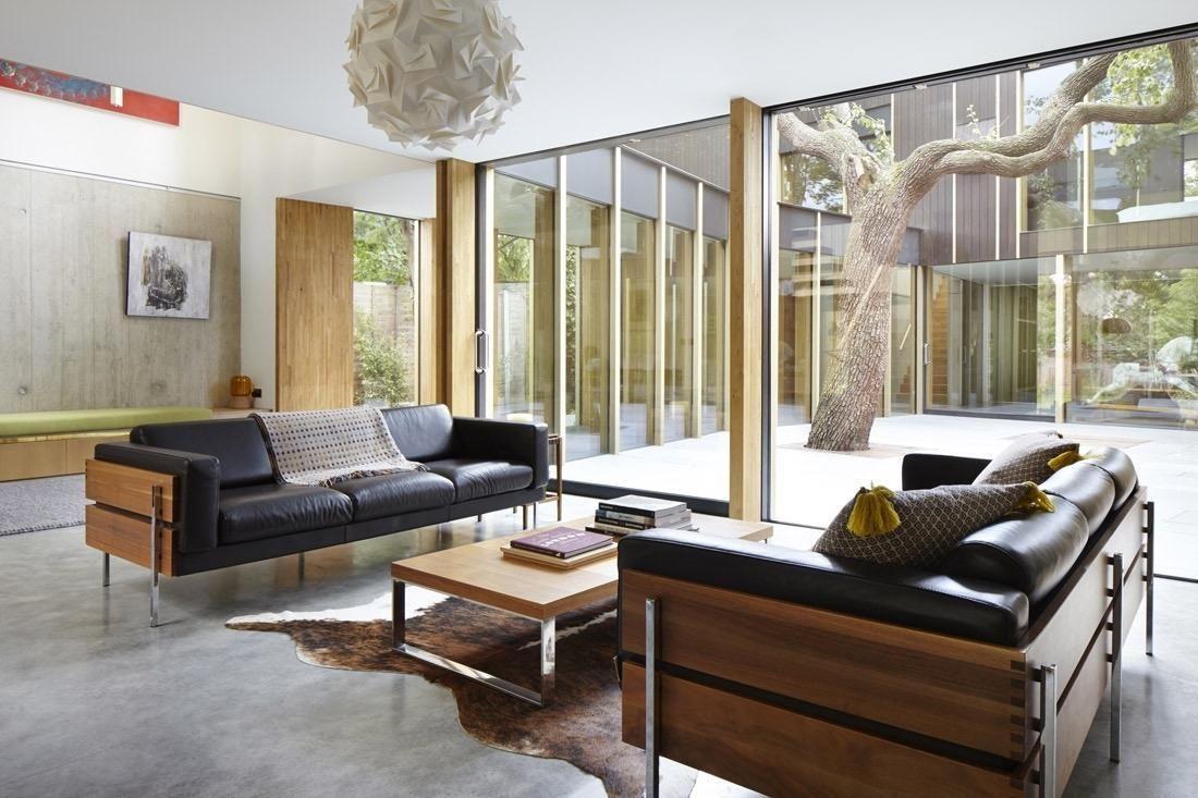 Maison Moderne Avec Patio Interieur une maison avec patio   maison avec patio, maison design et