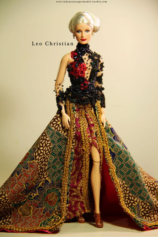 Indonesian National Costume Barbie | For more pics here