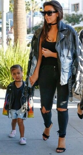 Kim Kardashian and North West out in L.A/ april 2, 2016