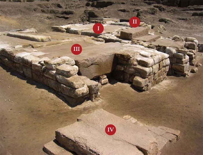 TUMBA OSORCÓN DINASTIA II TANIS. XXII ÉPOCA LIBIA