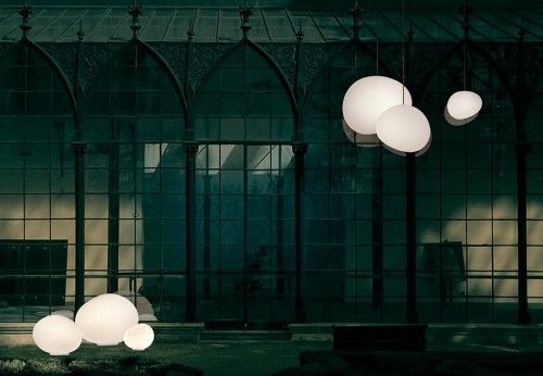 Foscarini outdoor gregg grande sospensione in lights for