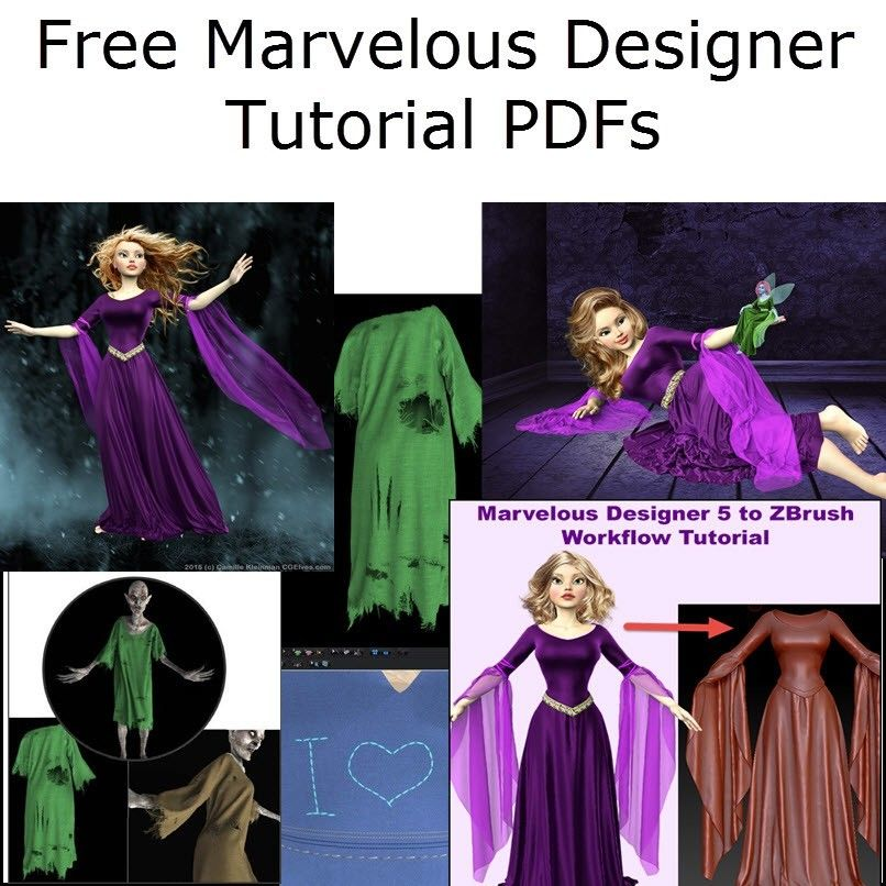 Free Marvelous Designer Tutorial Pdf Downloads Marvelous