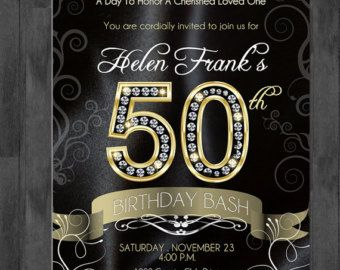 50th Birthday Party Decorating Ideas Gold White