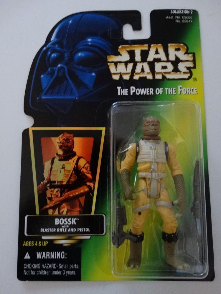 Star Wars Tusken Raider POTF Action Figure on Green Card 1996