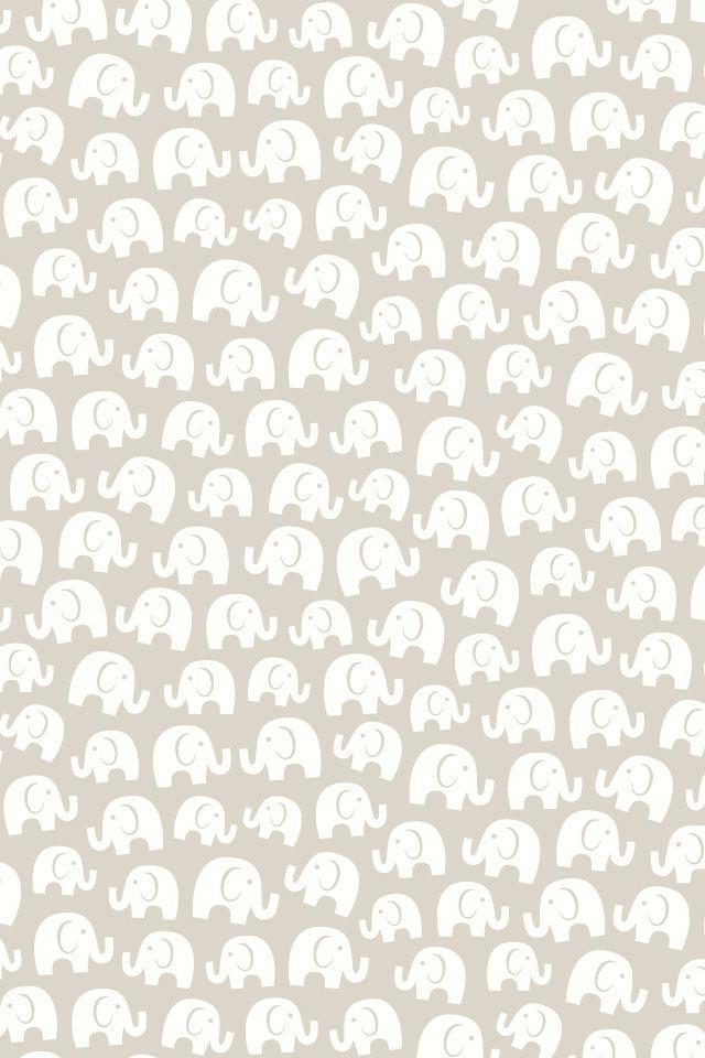 La Fiebre De Los Patterns Mia Mandarina Blog Elephant Wallpaper Pattern Wallpaper Iphone Background Cool elephant wallpaper for iphone