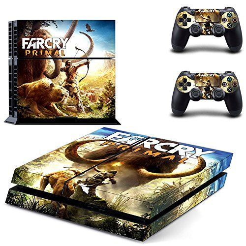 Far Cry Primalps4 Console Designer Skin For Sony Playstation 4