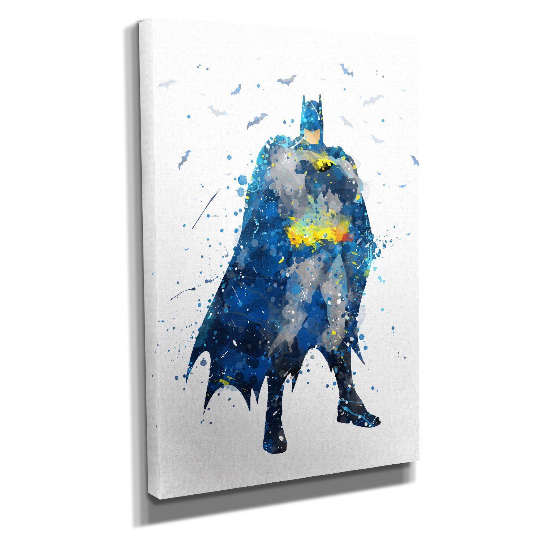 nerdinger batman splash kunstdruck auf leinwand 60x40 cm zum verschonern ihrer wohnung verschiedene format cross paintings mosaic pictures diamond drawing foto ohne rahmen bilder bestellen