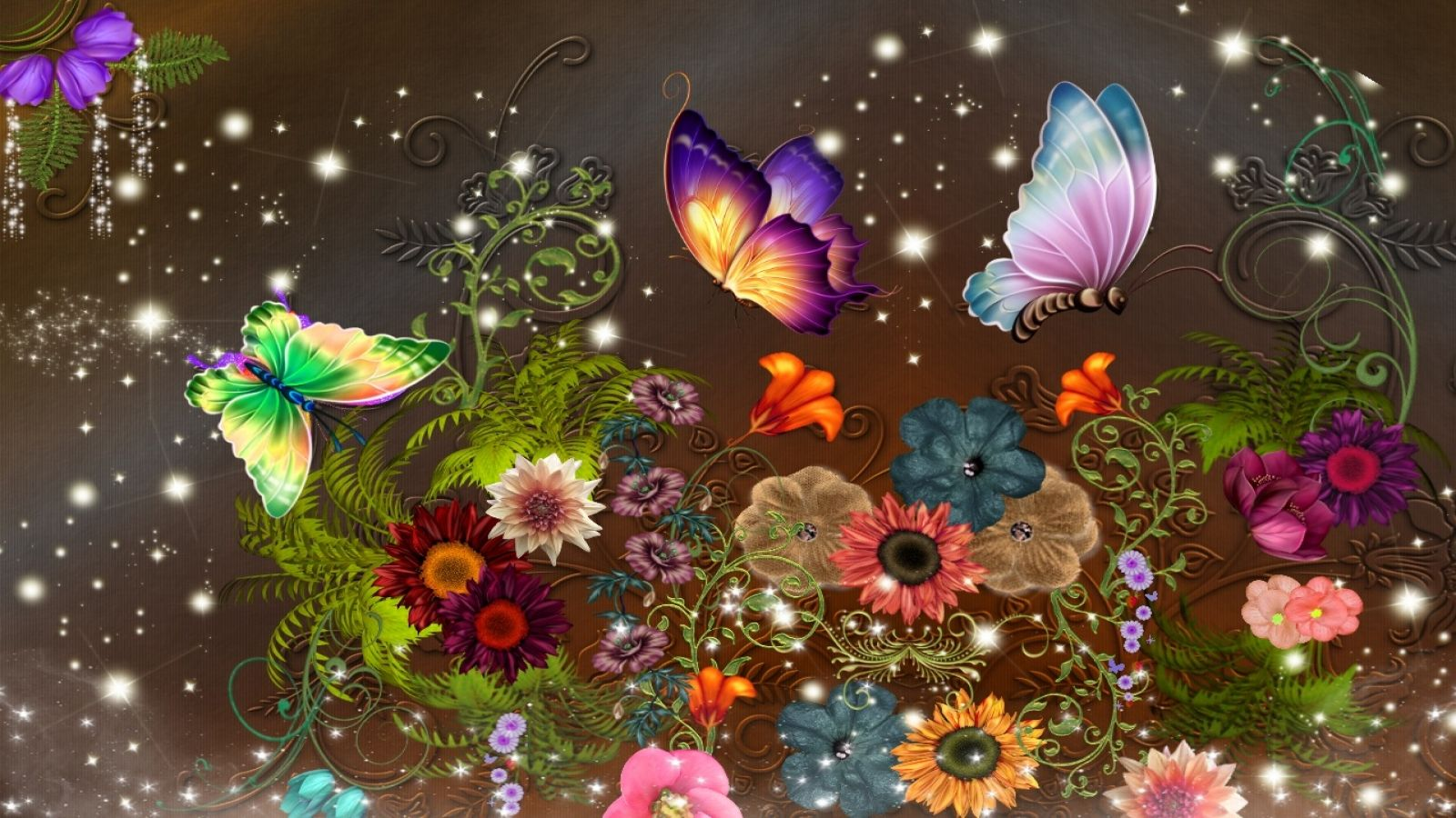 Butterfly Wallpaper 40 Hd Animal 1600x900 Wallulung Com With