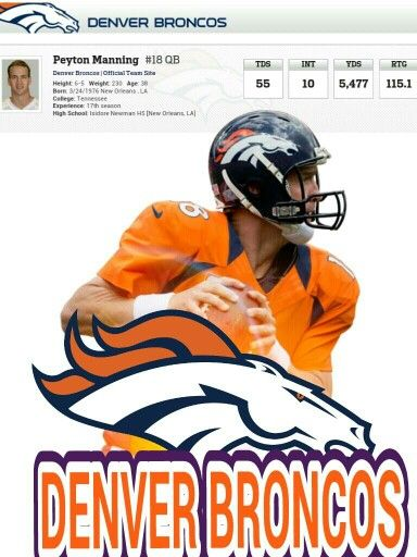 PFM Denver broncos football, Denver broncos, Broncos