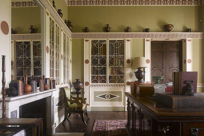 Creative historic home interiors greek revival house in scotland also rh pinterest