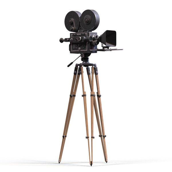 Vintage movie camera film