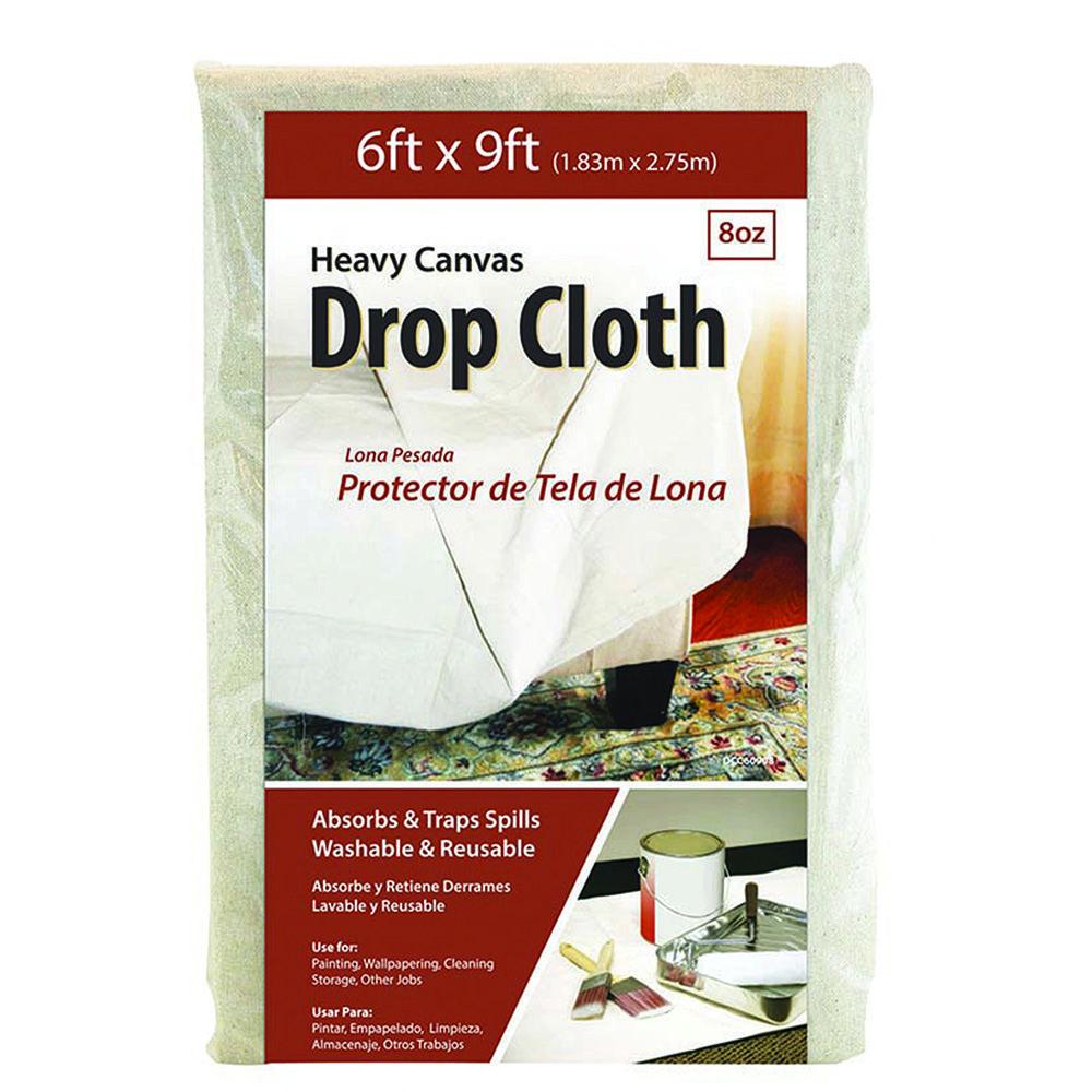 6 x 9 cotton canvas drop clothpartno g02010