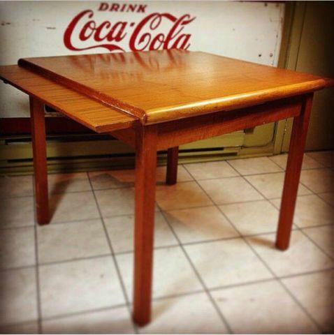 Table papillon en teck mobilier de salle à manger et cuisine