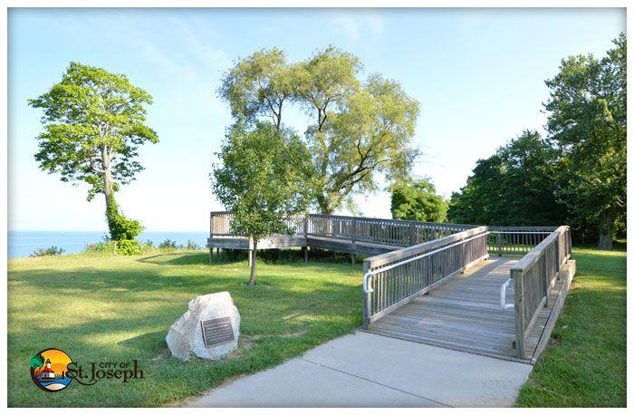 Lookout Park St Joseph Michigan Park City Park