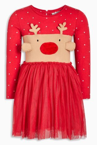 f48f6e8c85ab0 Buy Red Christmas Dress (3mths-6yrs) from the Next UK online shop ...