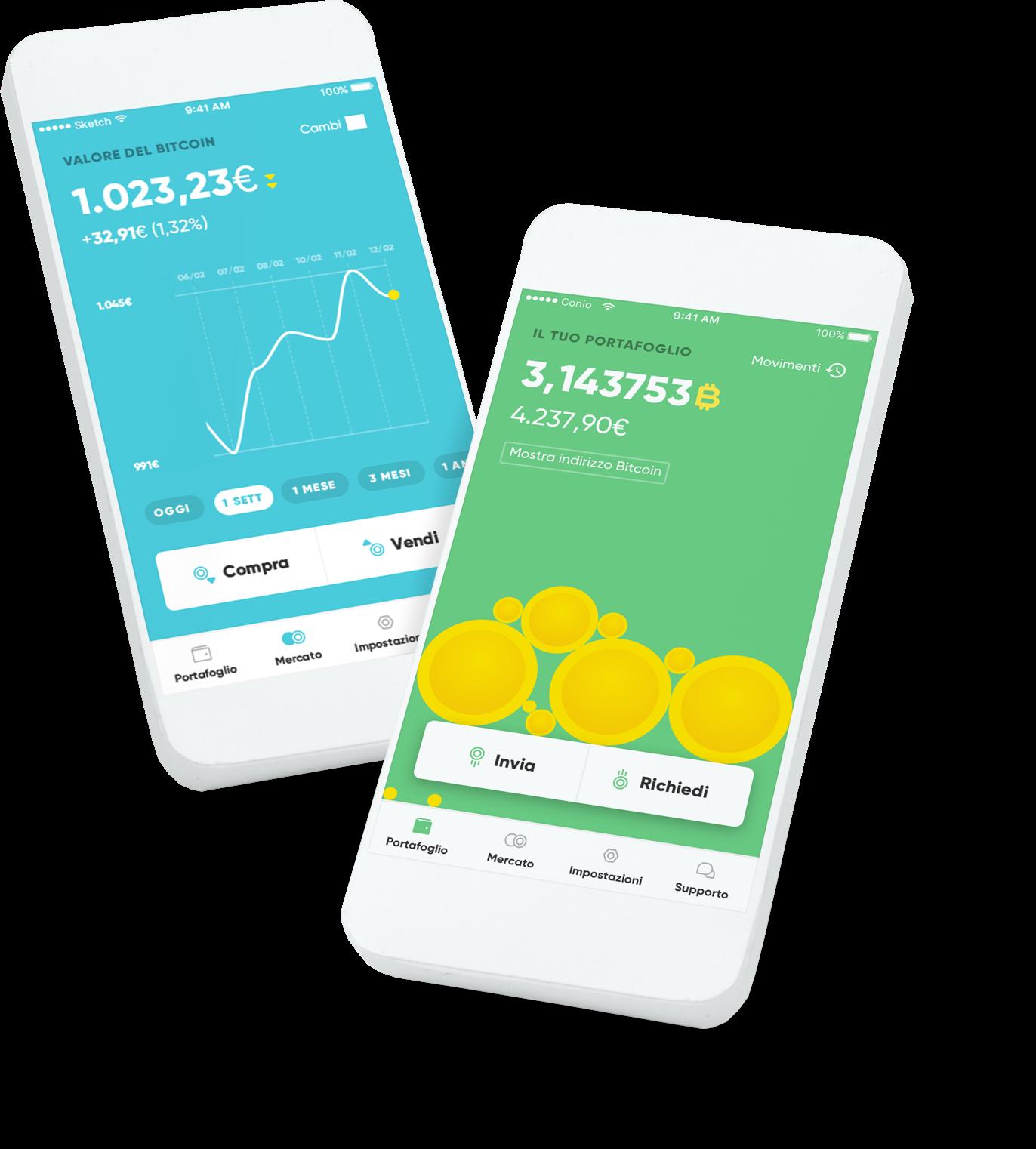 bitcoin app iphone