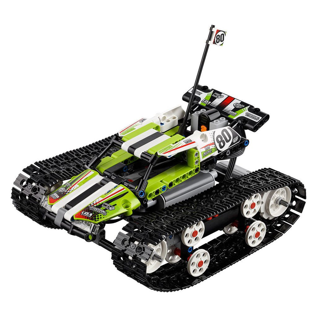 LEGO Technic 42065 RC Tracked Car... Lego technic, Rc