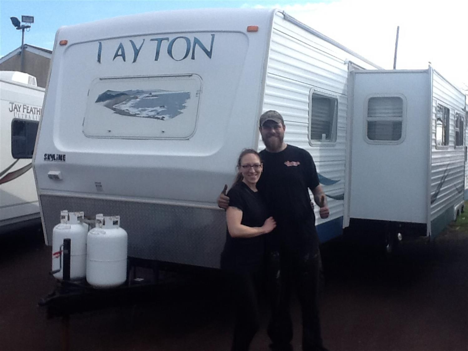 Congratulations And Best Wishes Courtney And Frank On The Purchase Of Your 2007 Skyline Layton We In 2020 Congratulations And Best Wishes Recreational Vehicles Rv