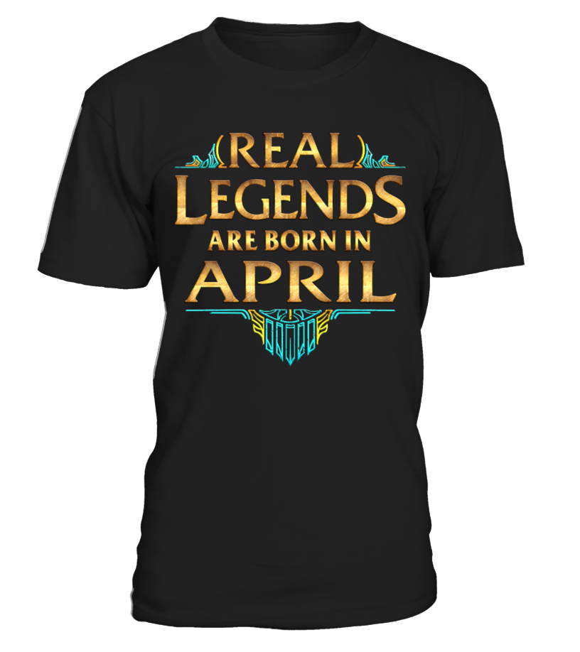 Real Legends Are Born In APRIL  #videogame #shirt #tzl #gift #gamer #gaming