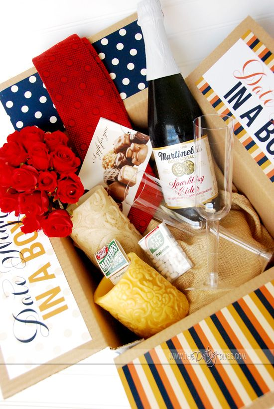 Date Night In A Box Many Ideas