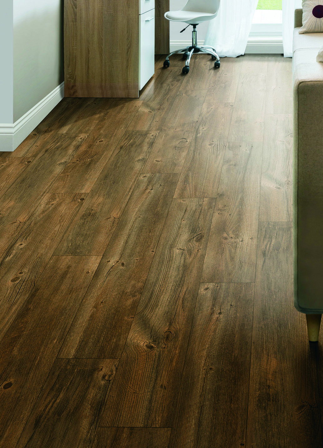 Add The Remarkable Primitive Beauty Of Aged Wood To Your Floors With Bravado Laminate Flooring Enhance Laminate Flooring Flooring Affordable Hardwood Flooring