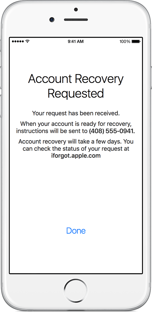 Recover Your Apple Id When You Can T Reset Your Password Account