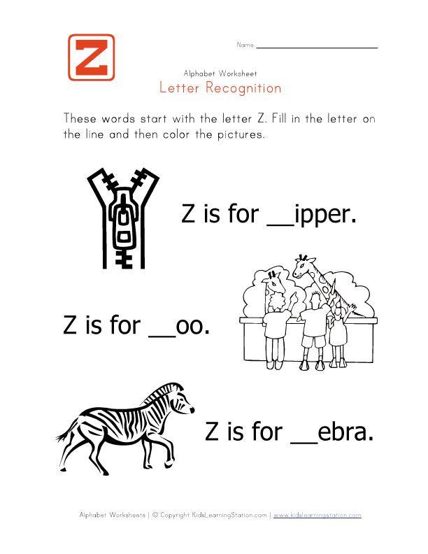 Imgenes De Kid Words That Begin With Z