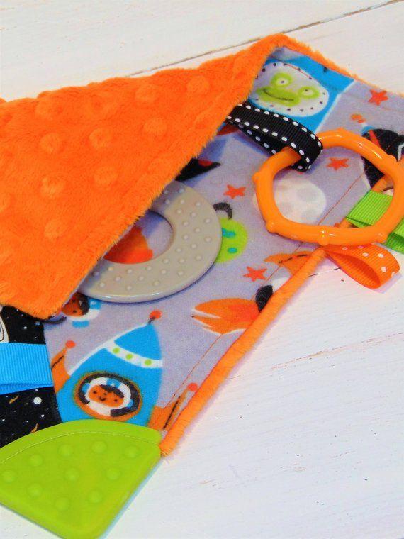 Quiet Teething Blanket/Rocket Teething Blanket/Busy ...