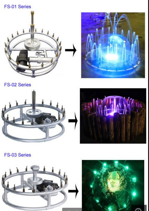 Easy Control Garden Laminar Fountain 2 5m Stainless Steel Mini Colorful Jumping Jet Fountain View Water Distance 2 5m Stainless Steel Mini Colorful Jumping Jet Water Fountain Fountain Design Garden Water Fountains