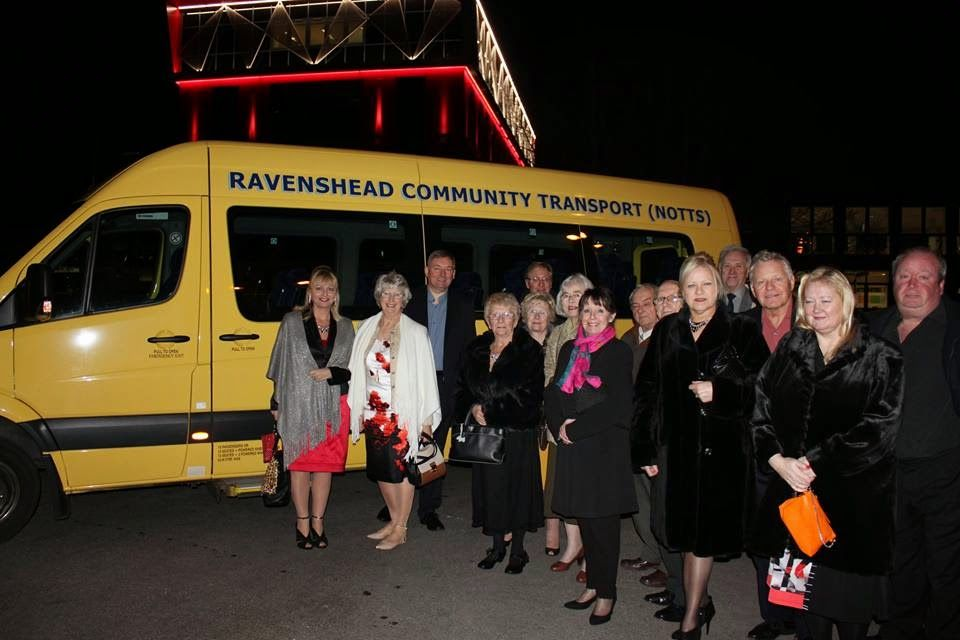RAVENSHEAD COMMUNITY TRANSPORT: LADY CAROLINE OUR FOR ANOTHER TRIP WITH SOME LOCAL...