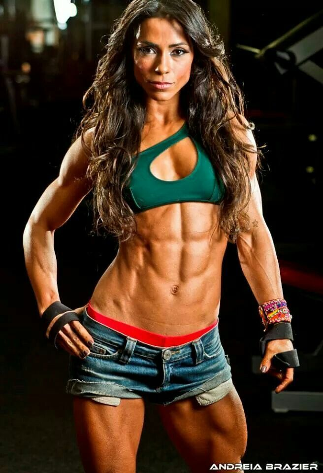 Strongwoman Fitness Abs Fitness Models Frauen