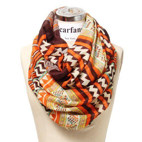 Scarfand's Mixed Infinity Brick Scarf (Chevron Orange) Scarfand,http://www.amazon.com/dp/B00FPTAC3G/ref=cm_sw_r_pi_dp_0eTzsb1CVG6YRR1G