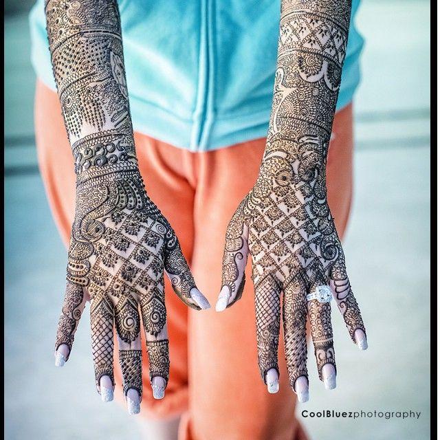 Unique Bridal Mehendi Designs from Real Brides