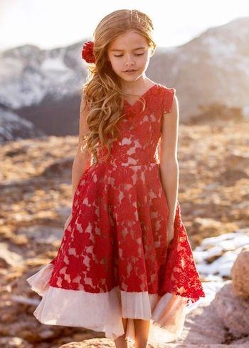 85e8b879d6645 Joyfolie Red Lace Dress Jacqueline PREORDER | Joyfolie | Girls ...