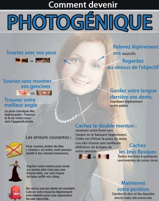 10 astuces pour être plus photogénique - Page 2 sur 2 - Astuces de grand mère
