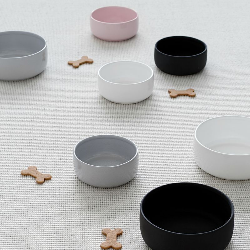 Modern Ceramic Dog Bowls From Kind Dog Accessories Pinterest