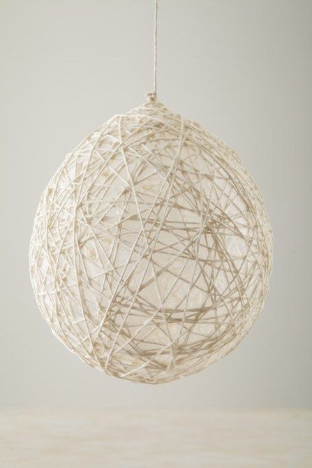 Diy Hanging String Balls Decoration Ideas Pinterest Diy