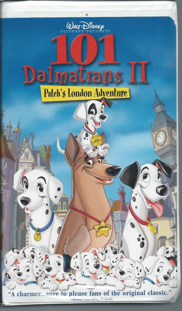 101 Dalmatians Ii Patch S London Adventure Vhs With Images