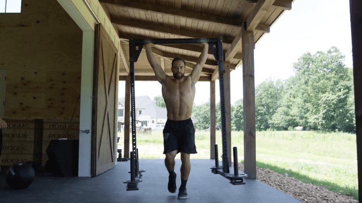 A look inside rich fronings barn home gym fitness home gym